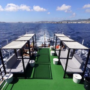 barco para eventos y bodas